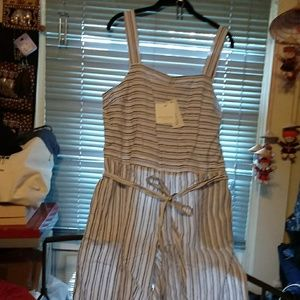 NWT Beach Lunch Dressy /Casual Lounge Overalls